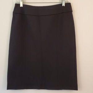 Halogen black pencil skirt size 6